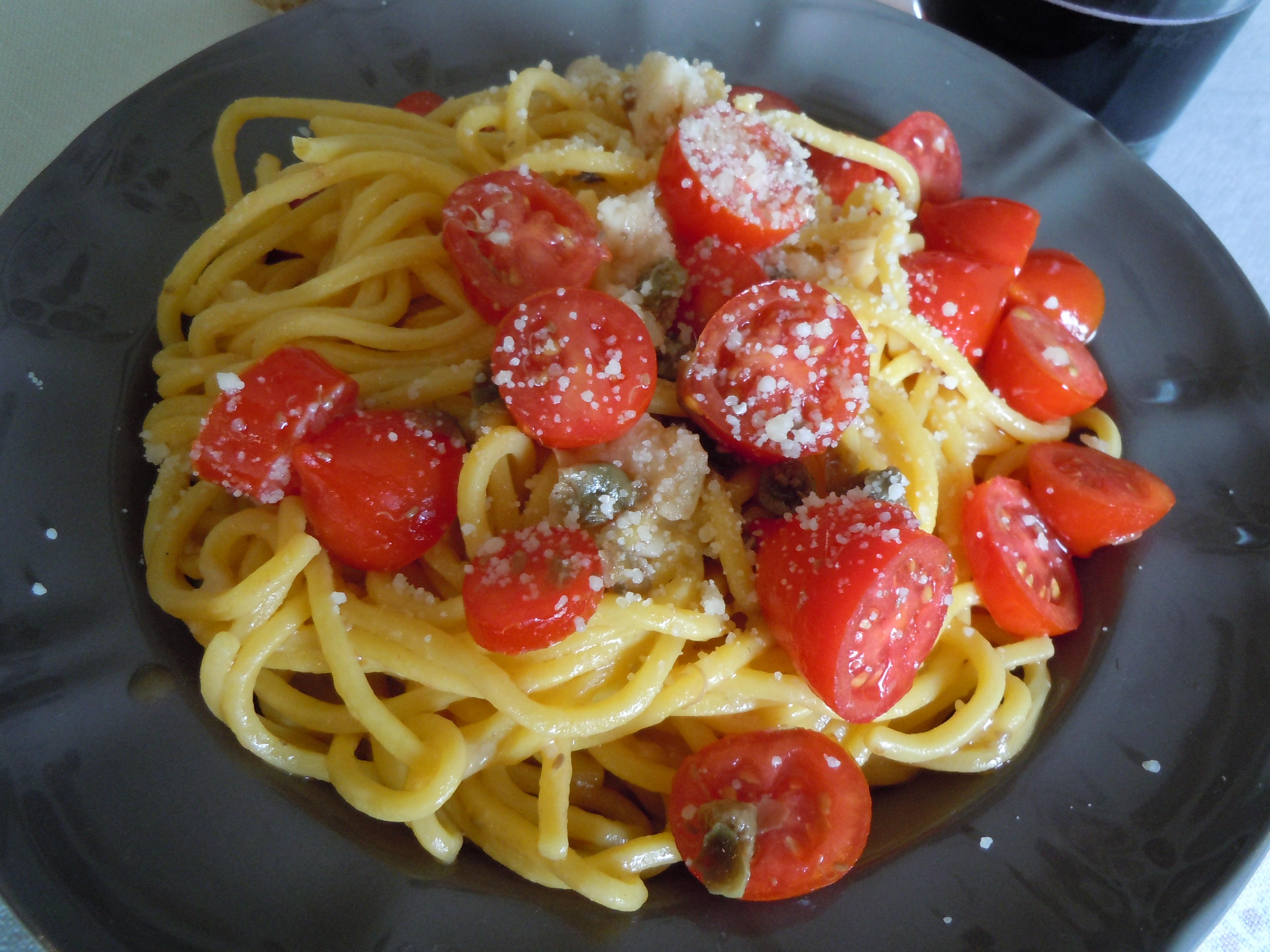 foto ingredienti Spaghetti alla chitarra