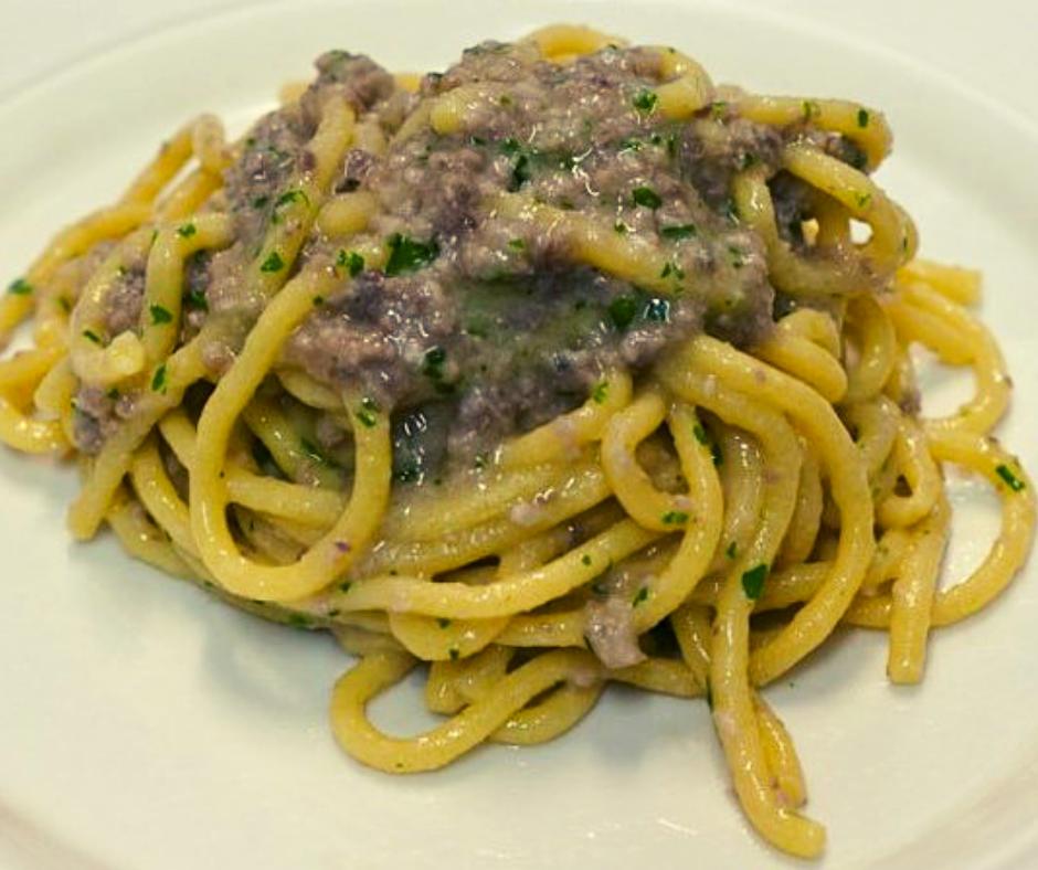 foto ingredienti Bigoli con le sardelle