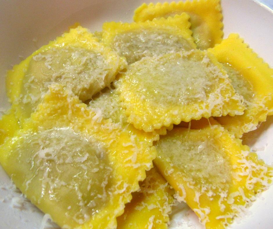 foto ingredienti Tortelli di zucca (Ricetta classica)
